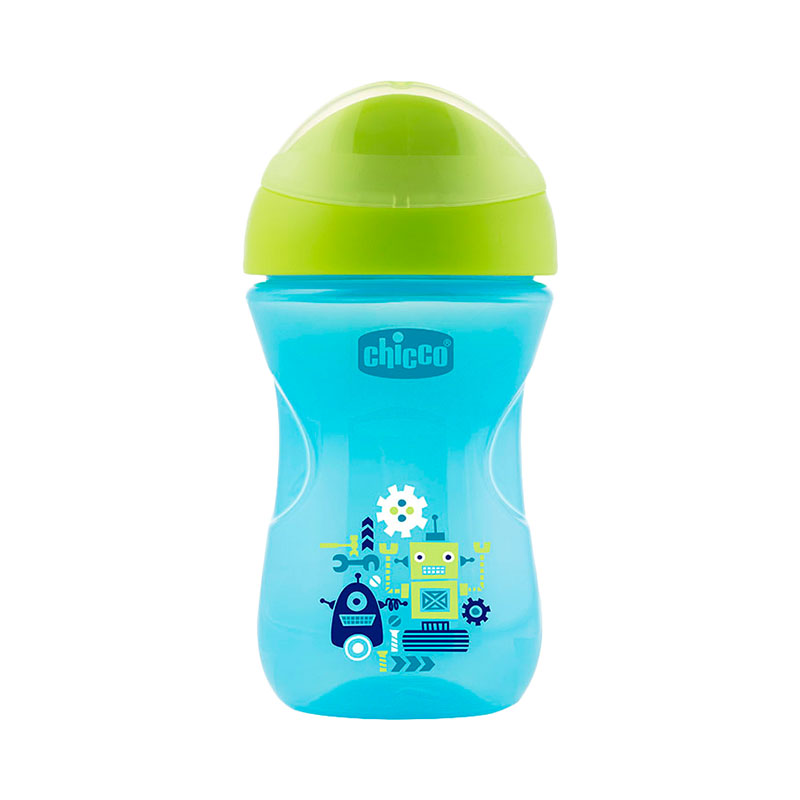 Cup Easy Cup, 12 months +, 266 ml, Blue feedkid мел silver cup blue 12шт