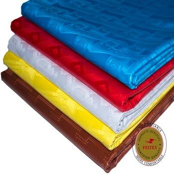 Feitex Original Bazin Riche Fabric Similar to Getzners Quality Jacquard Guinea Brocade Fabric 100% Cotton Shadda Perfume Tissu