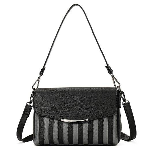 YILIAN Feminine Oblique cross package fashion Hit color The single shoulder bag 2018 Joining together Female bag 6119