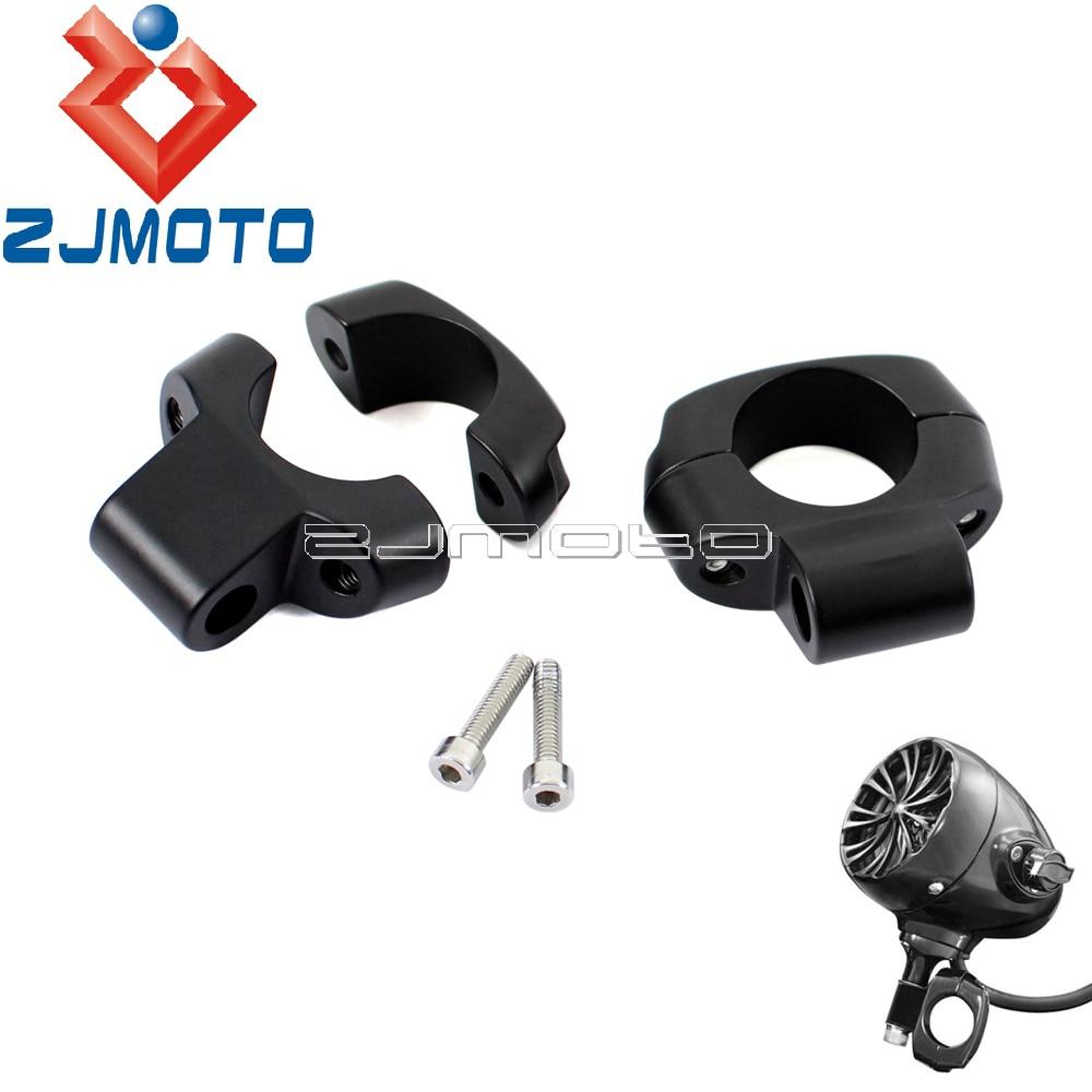"Chrome Harley-Davidson Miller Clamp for Mounting Mirror//Turn Signal 1/"" Handlebar"