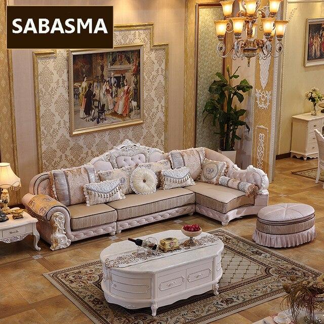 3Pc High Grade  L Shape Fabric Sofa 2