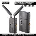 WHD151 150m SDI/HDMI Беспроводная система передачи видео 1080P HD видео вещательный ТВ передатчик и приемник для filmmaking