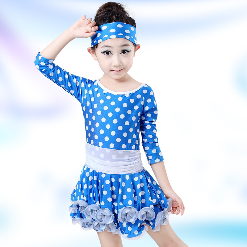 Girls Long Sleeve Sequin Girls Kids Ballroom Dresses girls Latin dance Dress perfoming costumes Tango Salsa Clothes YL333 3colors 100 160cm height kids child girls tassel dress ballroom latin salsa fashion dancewear dance costume dresses gifts