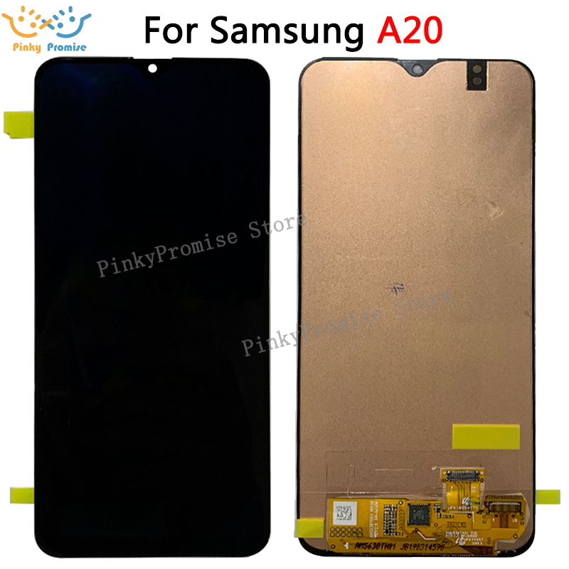For Samsung galaxy A20 lcd Digitizer A205/DS A205F A205FD A205A Display Touch Screen Digitizer Assembly For Samsung A20 lcd+tool-in Mobile Phone LCD Screens from Cellphones & Telecommunications    1