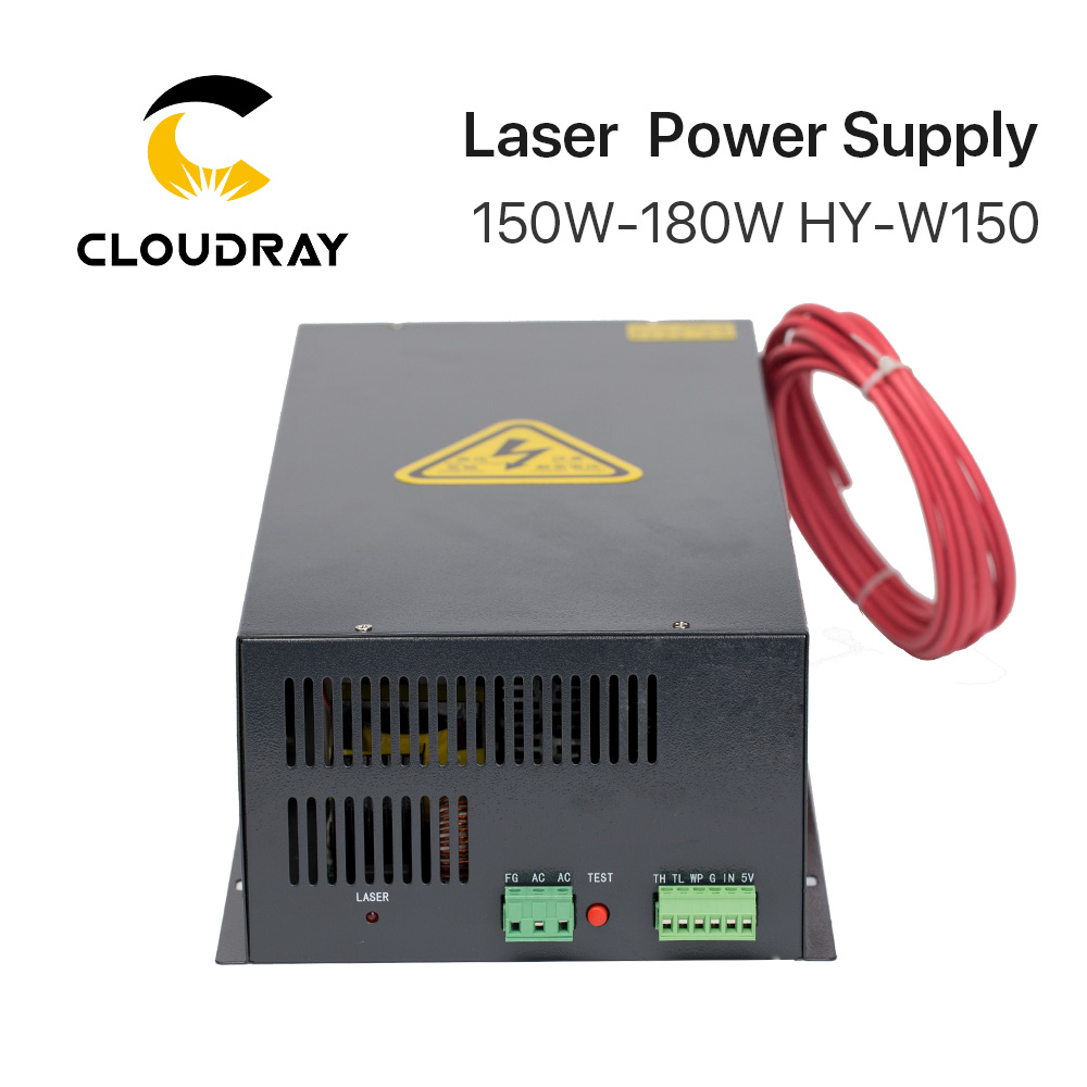 Cloudray 150-180W CO2 laseriga toiteallikas CO2 lasergraveerimisega - Puidutöötlemismasinate varuosad - Foto 3