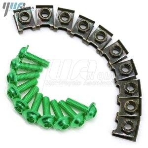 Image 3 - 10 pieces 6mm motorcycle fairing body screws for suzuki gsf 600 sv650s  bandit 400 drz 400 gsr dl 650 TL1000R  SV1000 S