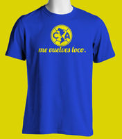 233d1a77125 Club America De Mexico T Shirt Camiseta Jersey America Me Vuelves Loco Short  Sleeve Fashion Summer