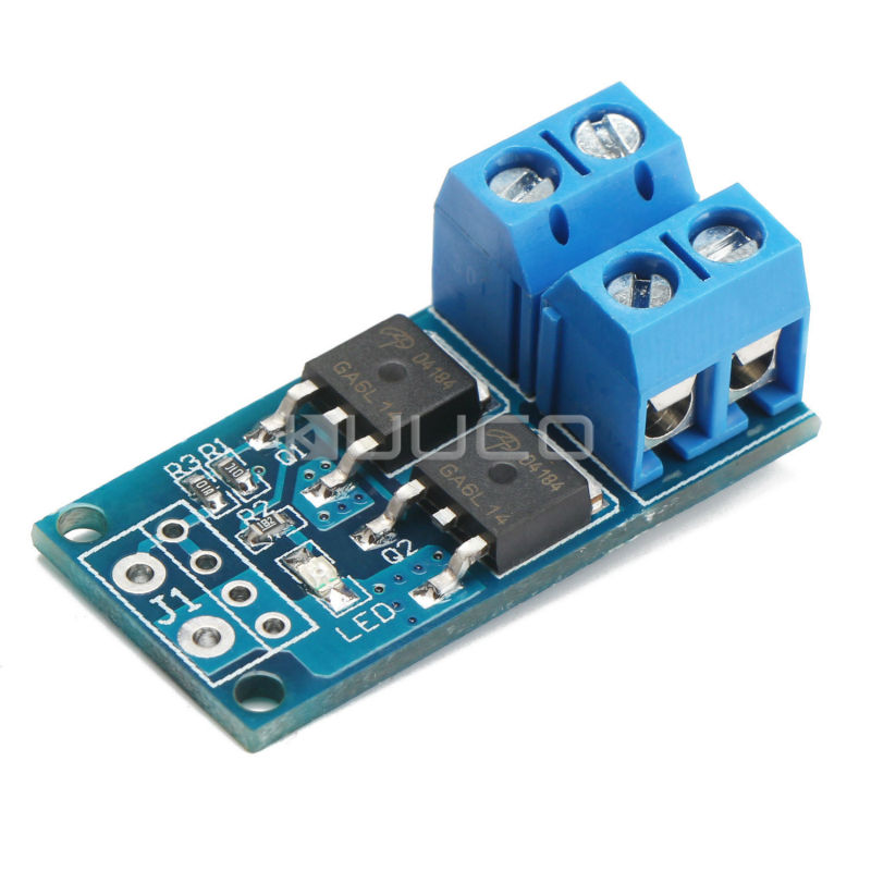 DC5V~36V PWM control switch board DC 12V 24V 15A 400W High-power MOS tube  trigger switch/Drive/electronically controlled switch 10 50v 100a 5000w reversible dc motor speed controller pwm control soft start high quality