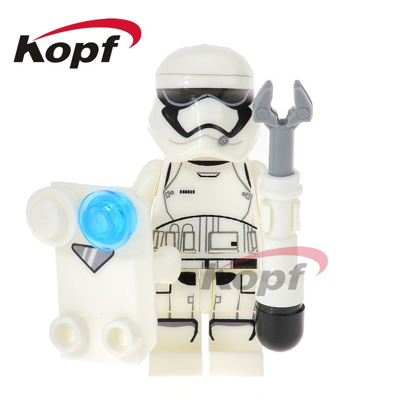 Single Sale Star Wars Stormtrooper Imperial Inquisitor The First Order Officer 75185 Building Blocks Toys for children PG729