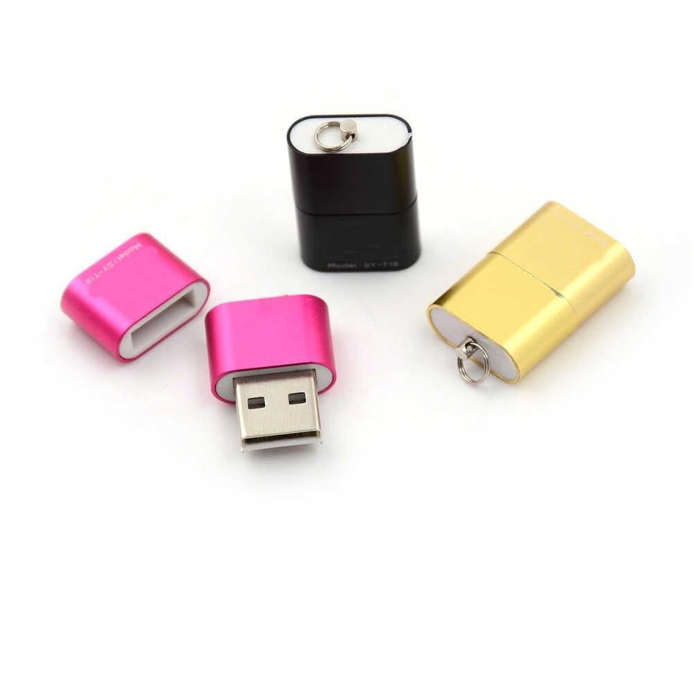 高速 USB 2.0 マイクロ SD TF T-フラッシュメモリカードリーダーアダプタータブレット/電話 480 150mbps の Usb 2.0 OTG アダプタミニサイズ