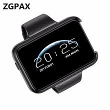 2018 smartwatch ZX5S support SIM TF Card Record video 2.2″ IPS 500mAh 1.3MP camera  smart watch For Apple Samsung Xiaomi huaweI