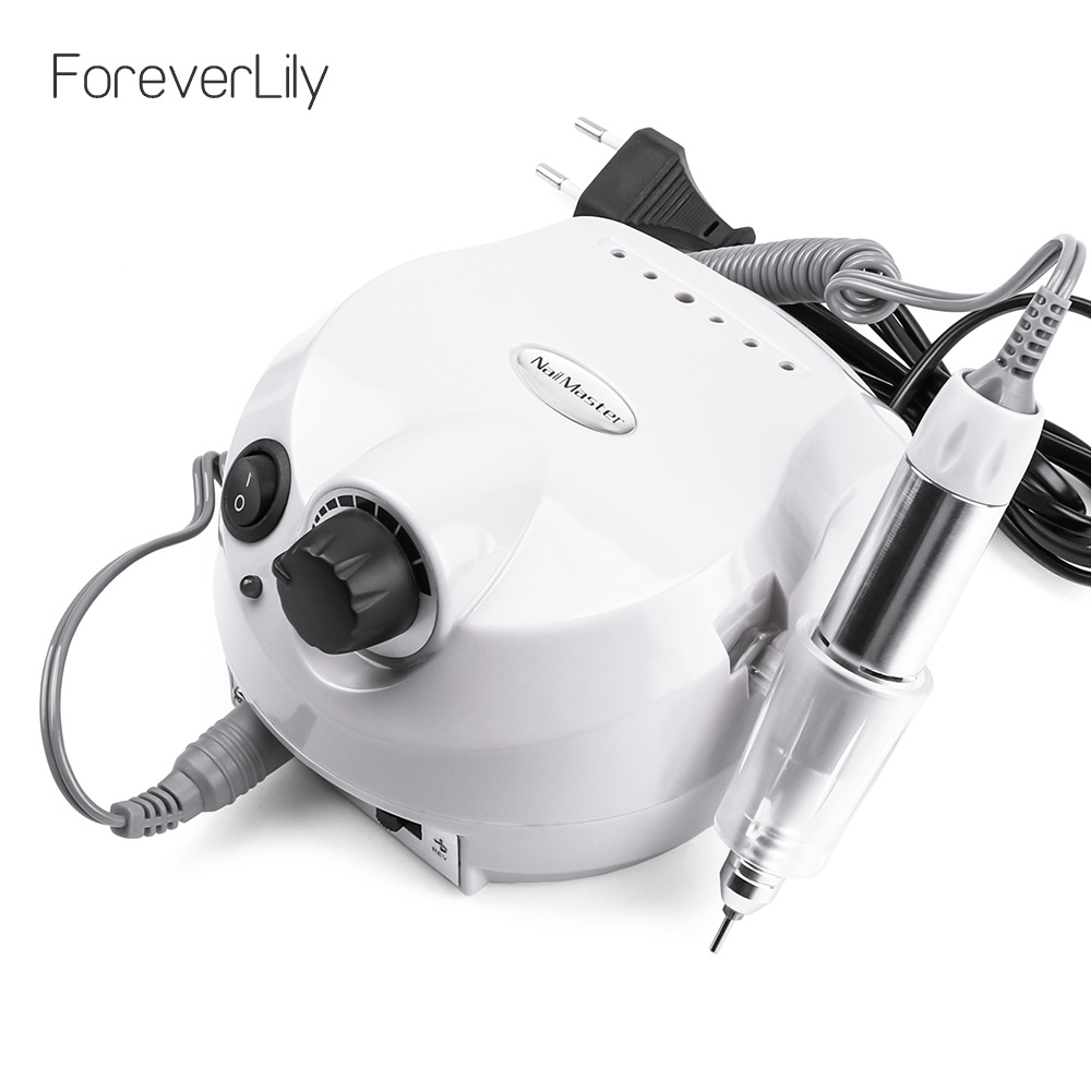 12V Electric Polisher File Pedicure Nail Glazing Machine Nail Art Tools Accessories Manicure Drills 110V 220V