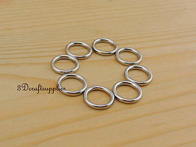 metal O rings O ring purse ring connector nickel alloy 10 ...