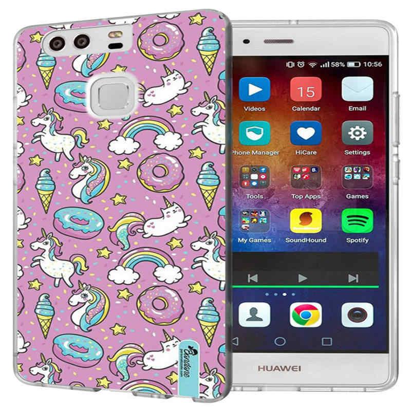 Trường hợp Đối Với Huawei P9 P10 Lite P8 Lite 2016 2017 Y5 II Y5 2 Y5ii/Y6ii Mềm TPU Mô Hình silicone Ultra Slim Trường Hợp Che Capa J157
