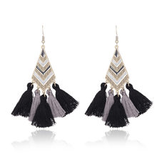 Ruberthen 2018 New Vintage Design Tassel Earrings Bohemia Style Earrings For Women High Quality Earrings Jewelry Drop Shipping(China)