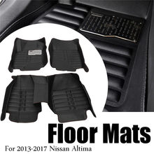 Waterproof Car Floor Mats For Honda Crv 2007 2008 2009 2010 2017 Front Rear Pu Leather