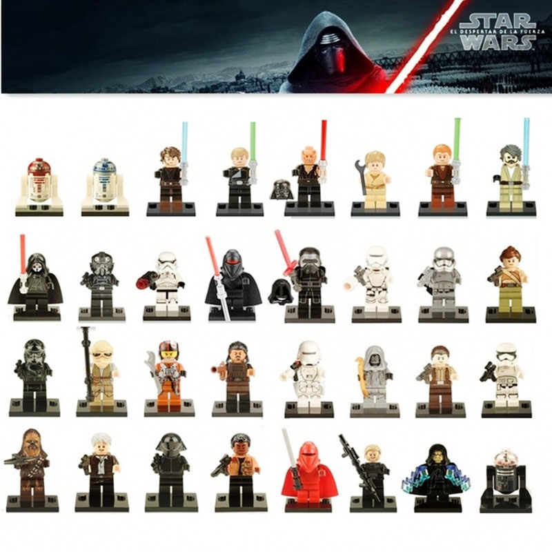 Single Sale Legoinglys Starwars Stormtroopers Clonetroopers Snowtroopers Deathtroopers Mini Figures Building Block Star Wars Toy