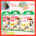 50 Sheets Fujifilm Instax Mini 8 Film VALID UNTIL 2018-10 + Free Gift for Polaroid Instant Photo Camera 7S 8 25 50s 70 90 SF1