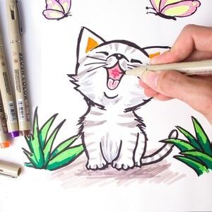 Image 5 - 12Pcs Precision Ink  Pens, Pigma Micron Fine Line Fine Pen , liner, Multiliner, Artist Illustration,Sketching, Technical Drawing