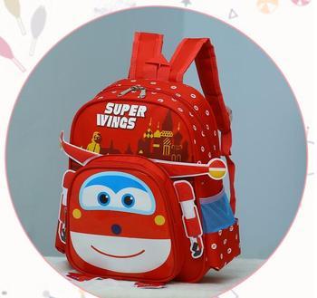 Hot superwings Three-dime School Bag Children Boys Backpacks Kindergarten backpack for girls Kid Cartoon School Bag for Kids 1