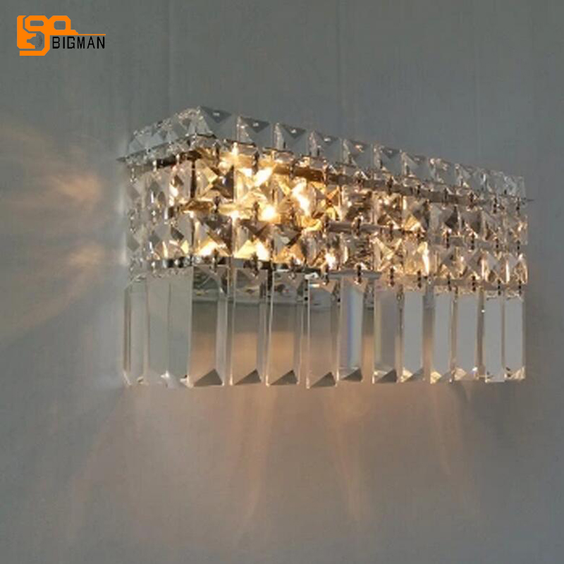 new beautiful luxury crystal wall lamps modern wall lights for home