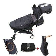 طفل عربة اكسسوارات كيس النوم قفاز شتوي مغلف دافئ كيس النوم غطاء الساق ل Babyzen يويو يويا