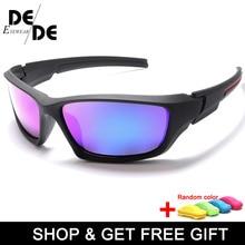 Hot Sale Brand Anti-Reflective HD Polarized Sunglasses Men Fashion Male Eyewear  Optical Travel Oculos with box