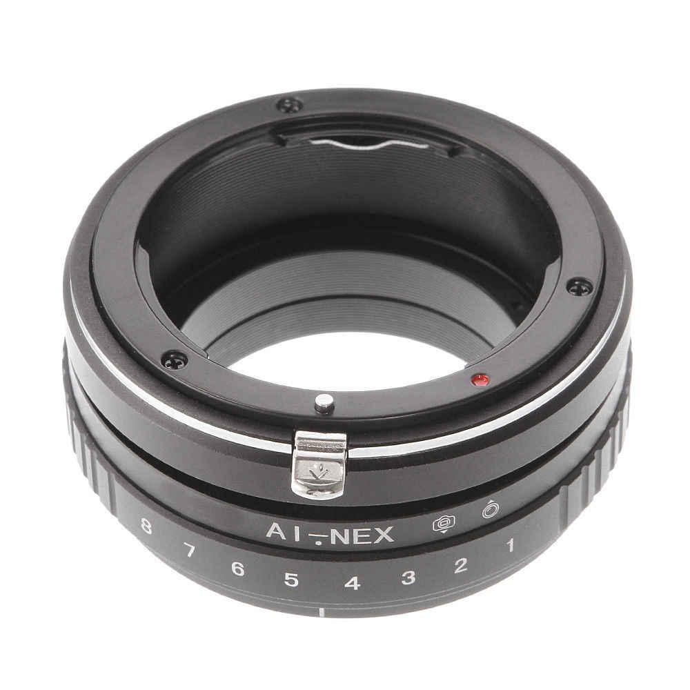 เอียง Shift แหวนอะแดปเตอร์สำหรับ AI F เลนส์กล้อง Sony อีภูเขา A7 R II A6500 A6000