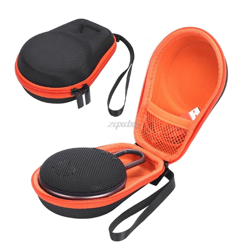 Portable EVA Zipper Hard Case Storage Bag Box For JBL Clip 2 3 Bluetooth Speaker Drop Ship Electronics Stocks