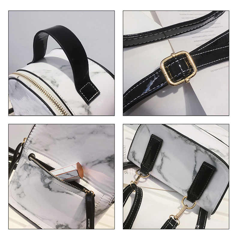 Модный Бренд сияющий камень узор Женский Рюкзак дизайнерский из искусственной кожи рюкзак женские школьные сумки для подростков девочек 2019 Новый