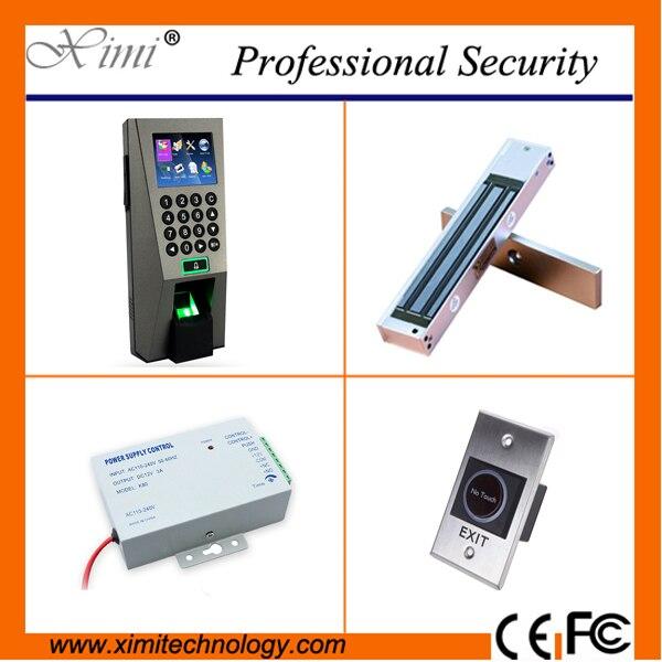 Linux система 3000 пользователей TCP/IP контроллер доступа по отпечаткам пальцев с 110 ~ 240 В питания, Е. М. блокировки доступа ZK комплект система упра...