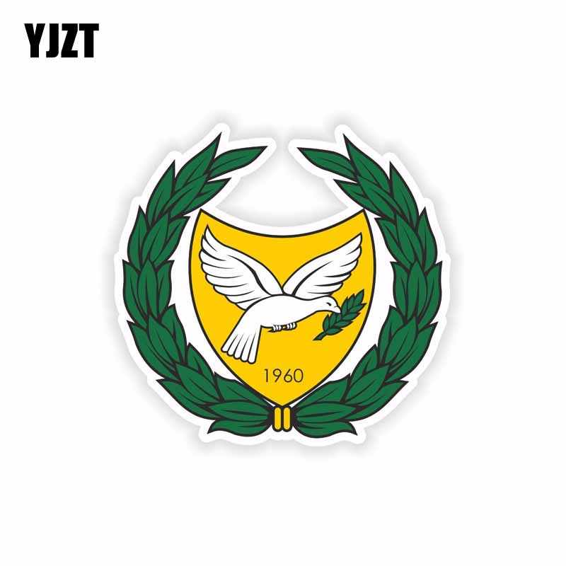 YJZT 11,3 СМ * 10,6 см наклейка на автомобиль, плащ с флагом, военная наклейка на шлем, наклейка на окно мотоцикла 6-2232