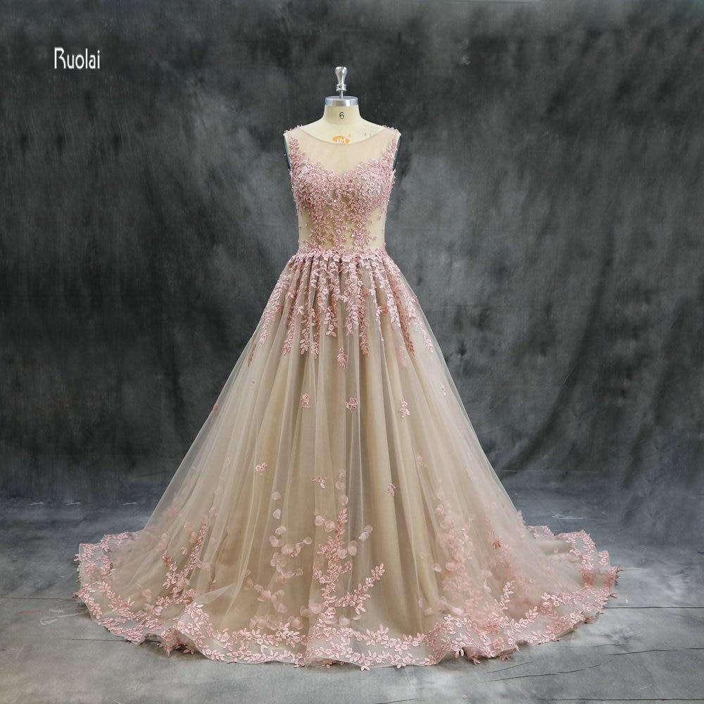 vestido de noiva New Arrival Evening Dresses 2018 Long Ball Gown ...