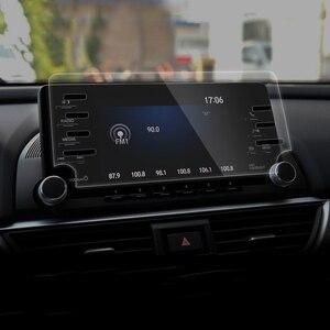 Image 2 - Pour Honda Accord X 10th 2018 2019 2020 acier voiture Navigation écran protecteur Instrument tableau de bord moniteur écran protecteur Film