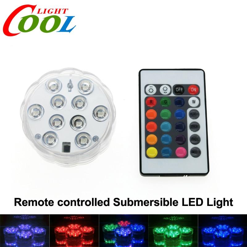 <font><b>LED</b></font> Submersible Light Color Changeable Coaster Waterproof <font><b>Cup</b></font> Mat with 24 Key <font><b>IR</b></font> <font><b>Remote</b></font> <font><b>Controller</b></font>