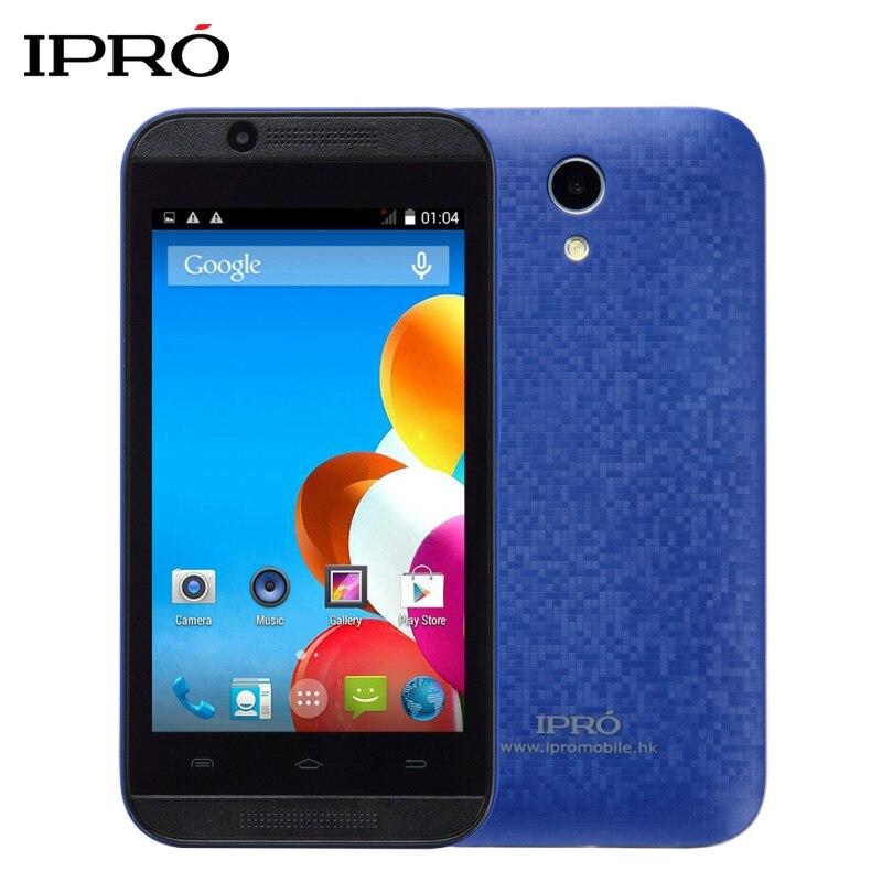Original IPRO Wave 4 0 Inch 512M RAM 4GB ROM 3G Smartphone MTK6572 Dual Core Celular