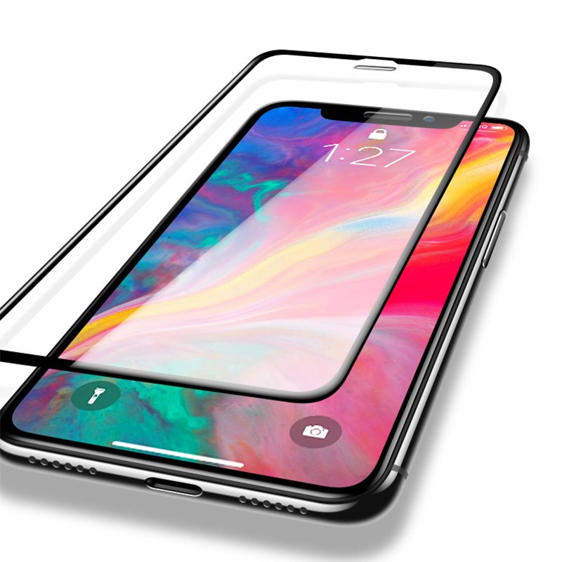 Image 5 - 6D protective glass for iPhone 6 6S 7 8 plus X glass on iphone 11 pro XR XS MAX screen protector iPhone 7 6 screen protection XR-in Phone Screen Protectors from Cellphones & Telecommunications