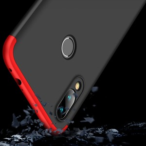 Image 2 - Voor Xiao mi rode Mi note 7 Mi Note7 case 360 Volledige Bescherming shockproof Telefoon 3in1 Cover Case