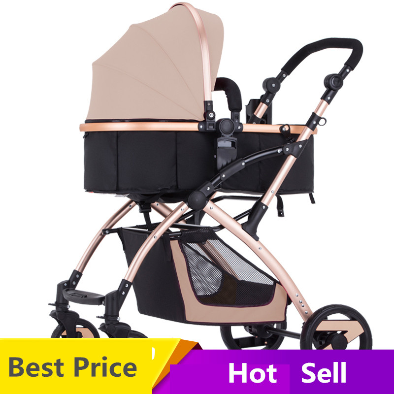 Europe Baby stroller ultra-light portable folding baby child bb car umbrella push baby car baby stroller ultra light portable folding cart shock absorbers car umbrella bb baby child small baby car