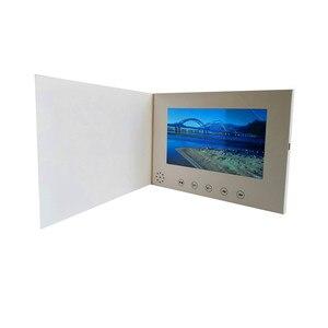 Image 3 - 7 אינץ מסך 8 GB חוברת אוניברסלי וידאו ברכה כרטיסי אופנה עיצוב וידאו פרסום כרטיסי צפייה חוברת (hyh 3070)
