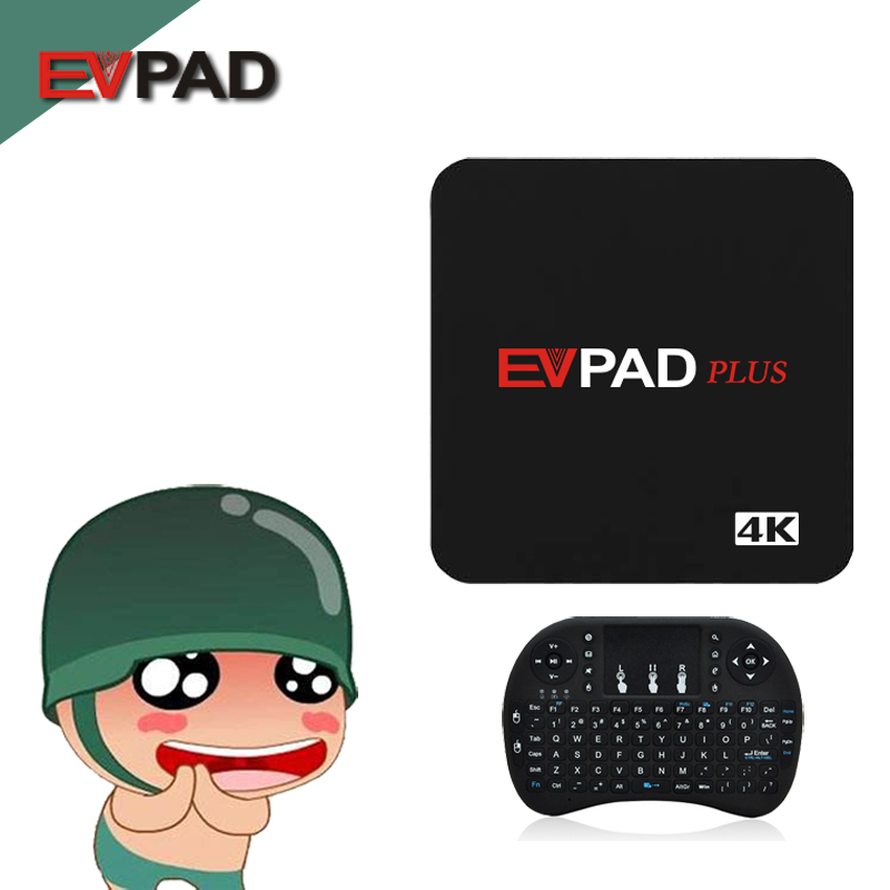 EVPAD plus 2g 32g Android 6.1 TV Box Smart TV Set-top Box tv Bluetooth4.0 4 k chinois de Hong Kong Malaisie Taiwan NOUS