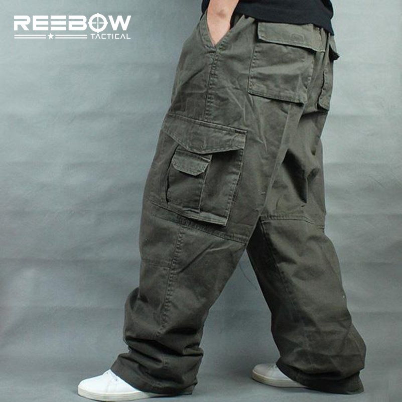 Солнцезащитные тактические мужские брюки-карго размера плюс для спорта на открытом воздухе, свободные брюки для бега, размеры 4XL 5XL 6XL, максимальная талия 135 см, вес 140 кг