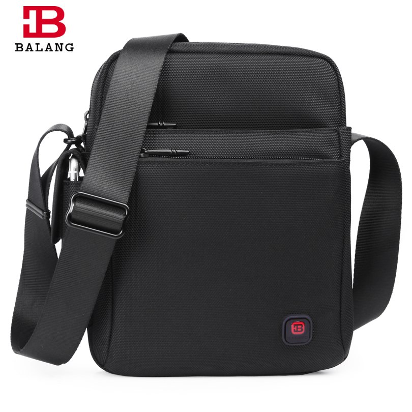 BALANG Casual Men Crossbody Bags Business Single Shoulder Bags Messenger Bags Vintage Fashion High Quality Waterproof Oxford balang brand waterproof men s crossbody bags for men shoulder bags small sacoche homme satchel unisex casual messenger bags