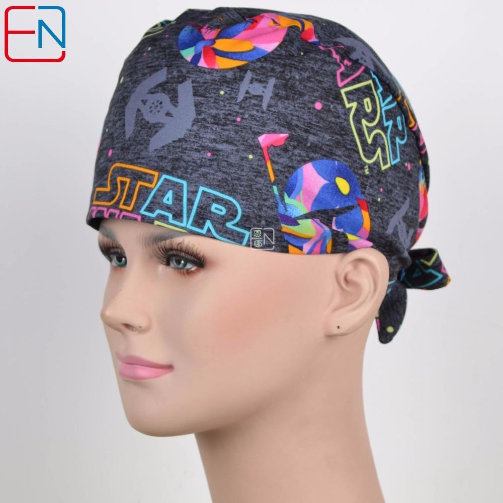 Hennar surgical caps unisex medical caps