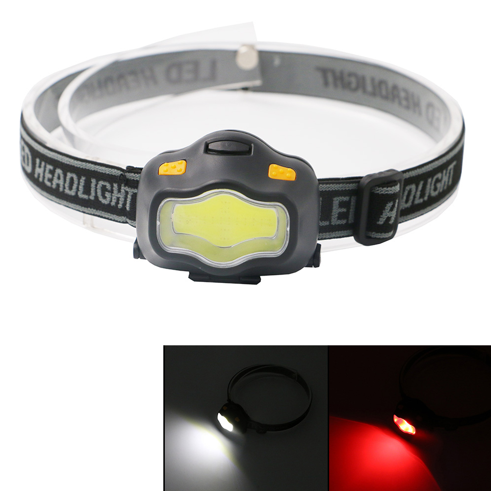 2017 Waterproof Lamp LED Headlamp Mini Headlight 3*AAA Head light With White/Red Light for Riding Camping Outdoor Sports mini headlamp 2000 lumens led waterproof aaa headlight red head lamp 3 mode light warning flashlight lights for 3 aaa battery
