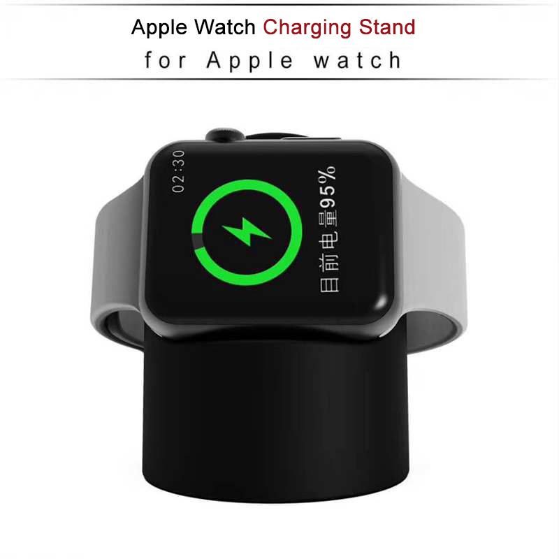 ShunGe for Apple Watch Charger Bracket Battery Pack QI Quick Wireless Charge 3.0 Portable Outdoor Watch Charger