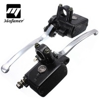 7 8inch 14mm Motorcycle Hydraulic Brake Clutch Lever Master Cylinder Left Right