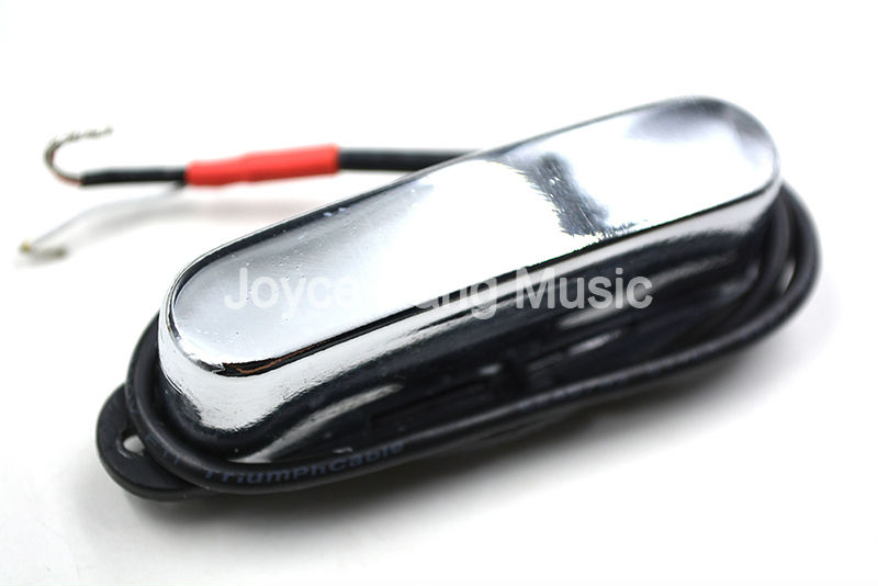 Chrome Closed Neck Single Coil Pickup For Fender Tele Style Electric Guitar Pickups free shipping new electric guitar double coil pickup chb 5 can cut single art 46