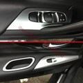 Botones de Perla ABS Chrome Interior Puerta interior panel de Ajuste de La Cubierta Para Nissan Altima 2016 2017