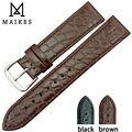 Maikes часы аксессуар натуральная кожа часы высокое качество цвета кварцевых часов ремешок 13 мм 18 мм 20 мм для Longines часы